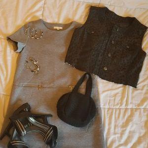 Ijoah Grey Dress